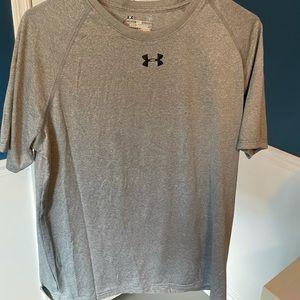 Under Armour Men's T-Shirt, L, Gray